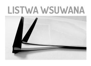 LISTWA WSUWANA